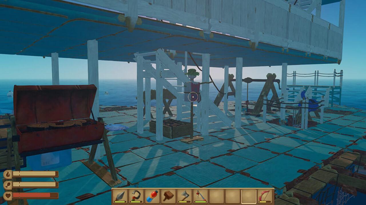 Raftマイ船